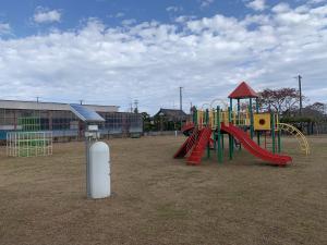 南相馬市小高区にある公園の風景
